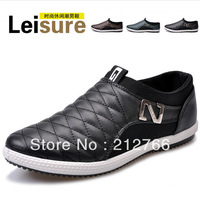 Free Shipping Design Men Leisure Fashion Sneakers Eu 39-44 Comfort Casual Loafers Shoes 01908