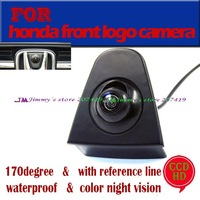 CCD Car auto Vehicle Front view Logo Camera for Honda Odyssey Dity New Fit Accord emblem camera Night vision
