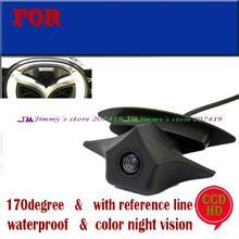 CCD Car auto Vehicle Front view Logo emblem Camera for Mazda Brand logo camera Night vision(China (Mainland))