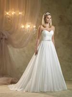 Free Shipping Nectarean Gentle Sweetheart Beading White/IvoryWedding Dress
