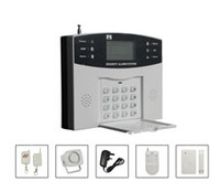 Dual voice LCD home alarm PSTN security wirelss home alarm GT908