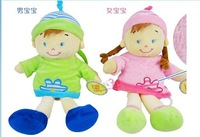 carter's new style baby pullerstring rattle soft musical toy doll