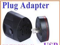Universal Travel Dual USB Power Supply Socket Plug Adapter Charger US/EU/UK/AU ,Freeshipping Dropshipping Wholesale