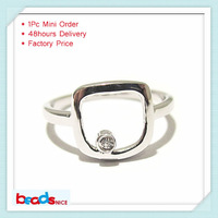 Min order is $10 mix order free shipping Beadsnice ID26776 925 Sterling silver women ring new mid knuckle rings gift for her