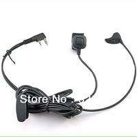 Earpiece/Ear Bone Conductor Earphone for Kenwood walkie talkie transceiver noise cancelling headset thumb PTT for Baofeng Wouxun