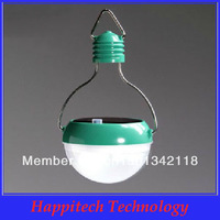 Free Shipping Wholesale Portable High Brightness 7 LED Solar Bulb Camping Light