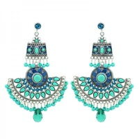 Y-X Latest Antique Vintage Earrings Fashion Women Big Earring Statement India Bohemia Style Exclusive Jewelry 1101575