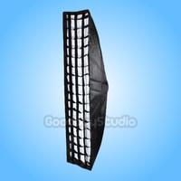 "35x160cm / 14""x63"" Softbox w/ Grid & Elinchrom / Calumet Genesis Speedring"