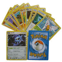 40 PCS / lot POKEMON card   Playing Cards Poker Card in bulk free shipping