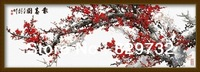 JIUJIU DIY digital oil painting Free shipping picture unique gift home decoration 40X120cm Plum brings spring paint by number