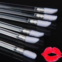 Disposable Lip Makeup Brush Lipgross Wands Applicator 100pcs/pack