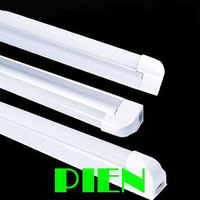 T5 led tube bulb Fluorescent 600mm 900mm 1200mm 1500mm 7W 10W 12W 15W 3 Pin LED tubos110V-240V Profile Holder by DHL 10pcs/lot