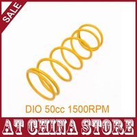 Yellow 1500RPM 1500N High Performance Racing Torque Springs for DIO 50cc 2 Stroke Scooter Moped