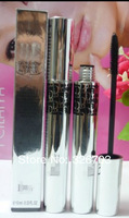 [8PCS /LOT] high quality brand makeup mascara volume effet faux cils black  free shipping