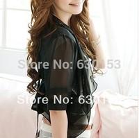 Special Price! Promotion Blouses chiffon silk scarf women's chiffon cape