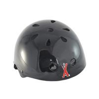 Bike Scooter Roller Inline Skate Bright black Skateboard helmet Black Free Shipping