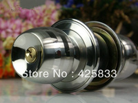 Free Shipping Cylinder Stainless Steel 304 Recessed Cup Handle/ Privacy Sliding Door Locks Antique Lock