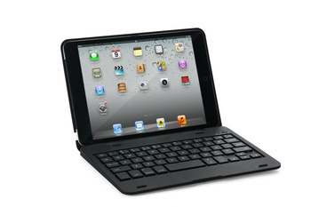 For Apple iPad Mini Colors Clam Shell Become Notebook Bluetooth Keyboard Case