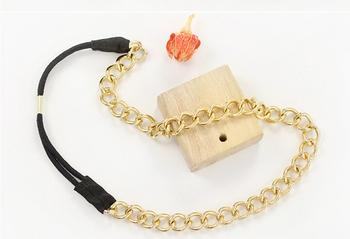 Fashion metal chain hair band headband hair accessory for women