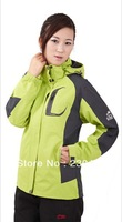 2013 NEW styles women's Sport coats C A M E L Mountaineering wear free shipping by china post air mail.