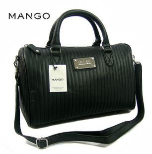 free shipping newest Mango Bucket Bag 2014 Black Fashion One Shoulder Handbag Messenger Bag Multifunctional Women's Mng Bags