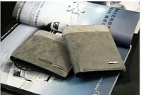 Free shipping (1pcs/lot) Korean men leather wallet