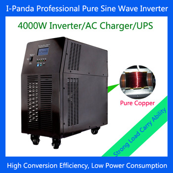 Household  4KW 4000W power inverter pure sine wave for solar engergy home system, uninterruptible power supply