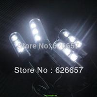 Car Interior Light LED Cigarette Lighter Plug ZY-614 White