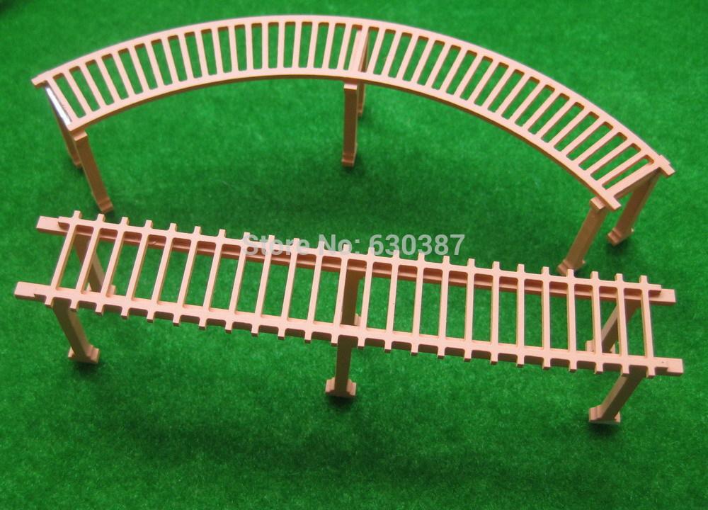 HW004 Model Railway Train Kit 1:87 Scale Garden Grape trellis HO OO (1 SET)(China (Mainland))