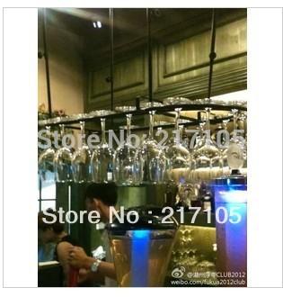 Achetez en gros tag re en verre suspendus en ligne des - Porte verre suspendu bar ...