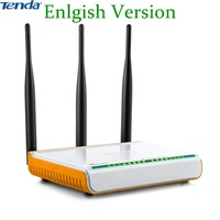 Russia or English Firmware Tenda Router  300mbs WIFI  Repeater  802.11g 300m Wireless Router n300 rangemax aerial wifi W304R