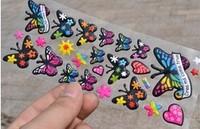 Free shipping wholesale 40 pcs / lot Child cartoon foam stickers stereo sticker baby paper DIY bubble stickers 3D STICKER