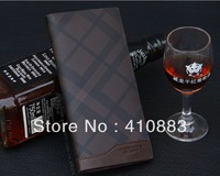 Free Shipping +New authentic men's leather wallet / long section of the leather wallet/   L064