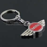 Mini car supplies mini emblem keychain , mini keychain , mini metal emblem