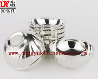 factory wholesale 12cm double walls stainless steel bowls