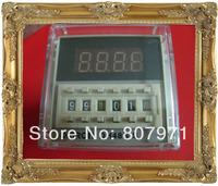 220v    230V  240V  Digital time delay repeat cycle relay timer 1s-990h LED display 8 pin panel installed