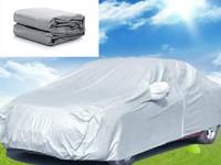 Free Shipping 4.5m/4.7m/4.9m/5.3m UNIVERSAL Anti UV RAIN SNOW RESISTANT WATERPROOF OUTDOOR FULL CAR COVER Universal sewing
