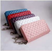 HOT SALE!!Free shipping lady leather wallet, wallet women ,leather purse,1pce wholesale, quality guarantee , Z25