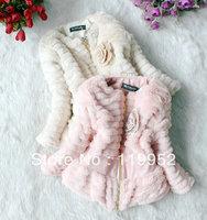 New arrival children thick jacket Korean girl's woollen coat autumn/winter kid's wear