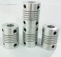 100pcs/lot of flexible coupler coupling 5mm*5mm