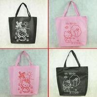 Hot !!!5PCS Hello kitty Shopping bag Reusable bag handbag Tote Bag Free Shipping
