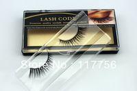 Free shipping new arrive top quality natural mink fur dense natural false eyelashes10pairs/lot