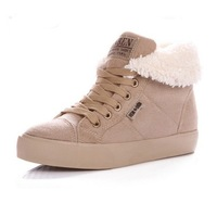 2013 New fashion fur knight female warm flat ankle boots for women, snow boots and women's autumn winter shoes