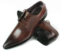Top Quality Neu Leder Herren Business Schuhe Schnrer  37-45 Genuine Leather Free Shipping