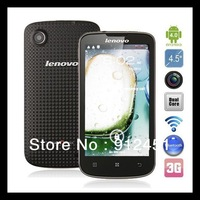 "original Lenovo A800 4.5"" mtk6577 android 4,0 4GB ROM 512MB RAM GPS WIFI GPS WIFI smart phone"