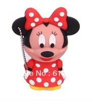 Minnie mouse usb flash drive 1G 2G 4GB 8GB 16GB 32GB Free shipping
