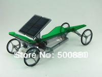 solar speedy car solar toys DIY educational toys free shipping