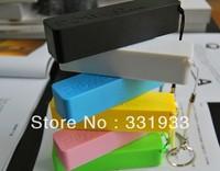 Wholesale 50pcs 2600mAh Emergency USB Perfume Power Bank Charger for Various phone Mobile 50pcs/lot