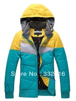 Free shipping !  female warm cotton-padded jacket to  winter sports leisure cotton jacket