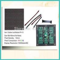 PH10 outdoor rgb led display module